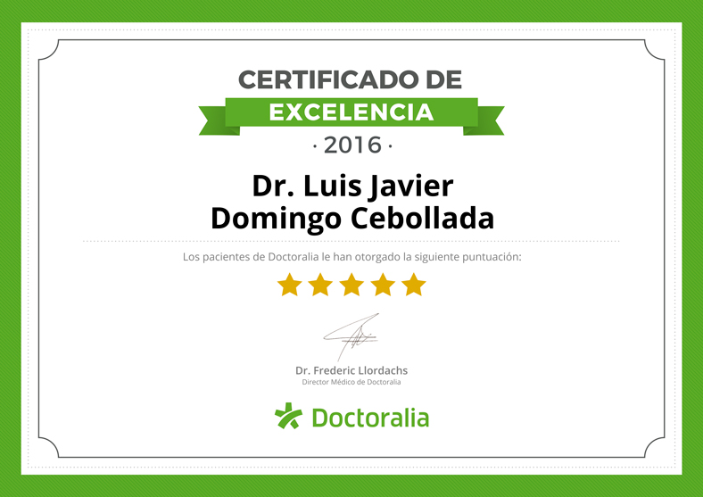 Dr. Luis Javier Domingo Cebollada