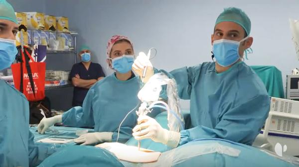 endoscopia de columna hernia